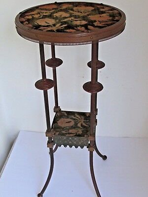 Antique Aesthetic Brass Side Table