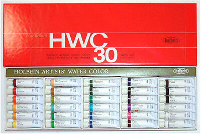 Holbein Artists Watercolour Set Of 30 - 5ml