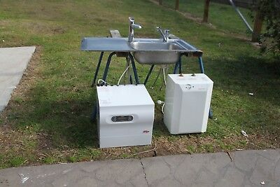 Zip Boil and chill unit and under sink Zip boil unit with taps $1 bid no reserve