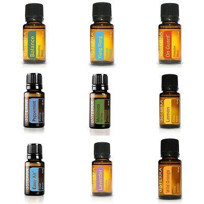 doTerra Essential Oils - Brand New Pure Oils Free Post In stock 'FREE Oil Deal'