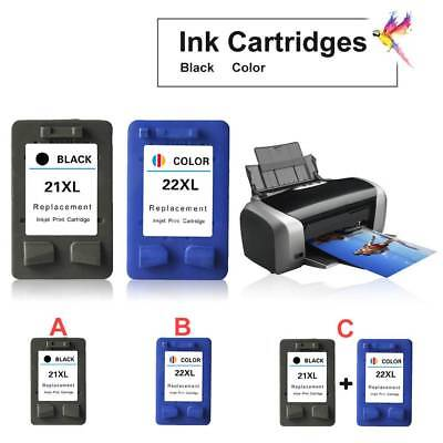 Ink Cartridges Replacement for HP21 HP22 C9351AA F2100 2180 2200 2280