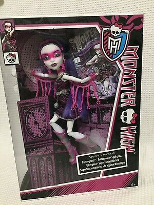 RARE Monster High Doll Spectra Polterghoul Power New In Box Huge Sale Of Dolls