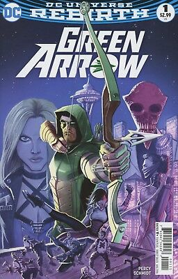 Green Arrow #1 2016 Rebirth Dc Comics