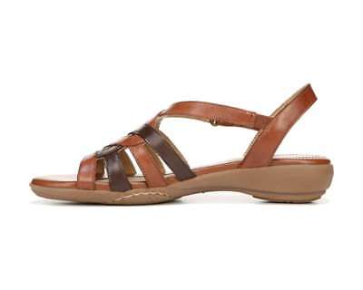fd3880f1680d NATURALIZER CHARM Womens Flat Sandals Brown 8 US   6 UK Kotg - £25.01