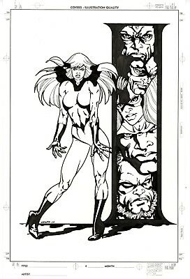 Crystal of the Inhumans by Bart Sears