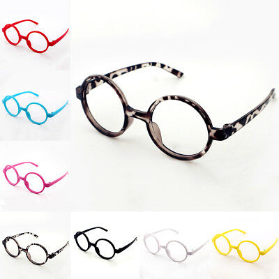 Plastic Girls Round Fashion Kids Children Eyeglasses New Boys Glasses Pop Frame