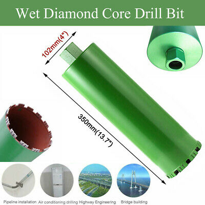 2.2'' 3'' 4'' 5'' Wet Diamond Core Drill Bit for Concrete - Premium Green Series