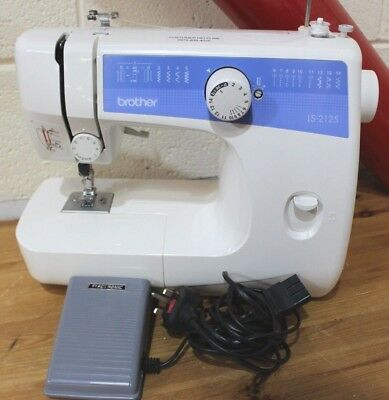 Brother LS-2125 Electric Sewing Machine - 250