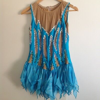 Figure skating/dancing/roller skating dress/costume.