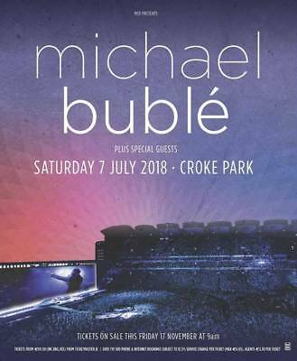 Michael Buble Ticket, Croke Park, 7th July 2018