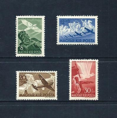 HUNGARY _ 1942 'HORTHY AVIATION FUND' SET of 4 _ mh ____(535)