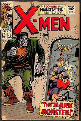 X-Men 40 PR 1st App Marvel's Frankenstein's Monster