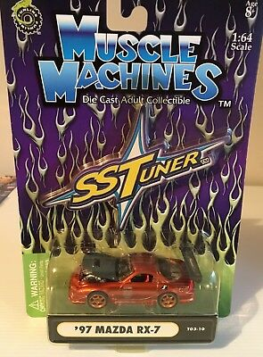 Muscle Machines Mazda Rx7 1/64 Scale