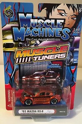 Muscle Machines Mazda Rx8 1/64 Scale