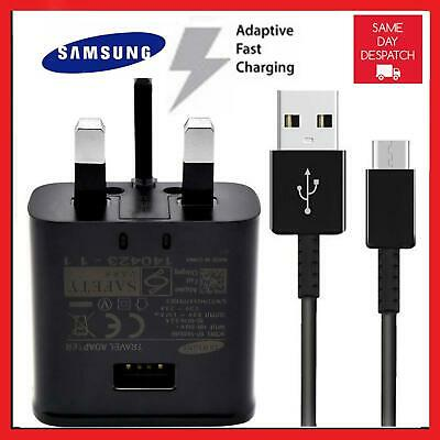 FAST CHARGER PLUG & CABLE FOR SAMSUNG GALAXY S8 S8+ Note 8 S9 S9 PLUS