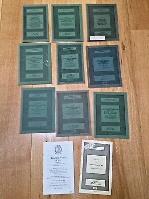 12 Very Old Auction Catalogues Sotheby's Art Furniture Japanese ETC 1968 to 1979