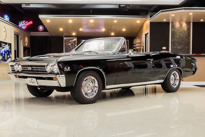 Chevrolet Chevelle SS Convertible Frame Off Resto! Pro Built GM 489ci V8 (551hp) Muncie 4-Speed, Posi PS, PB, Disc
