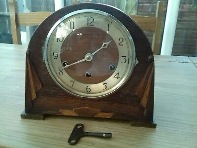 Mauthe chiming mantel clock