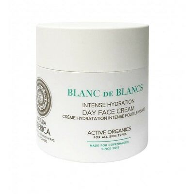 Natura Siberica Blanc de Blancs Day Cream Intense Hydration Day Face Cream 50ml