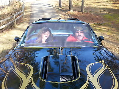 Smokey &  Bandit  Windshield  Sunshade Banner 1977 Trans am SE +  free Poster!