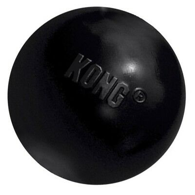 KONG Extreme Ball Rubber Dog Toy Strong Durable Bouncy Chew Fetch Toys or Treats
