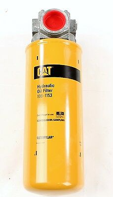 New 108-1153 Caterpillar Hydraulic Oil Filter Assembly & Base