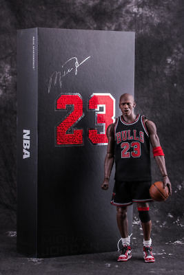 NBA Michael Jordan Action Figure Model Statue Collectible Doll Gift 12In