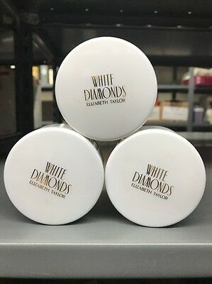 White Dimonds Women By Elizabeth Taylor 4.5 Oz Dusting Powder With Puff