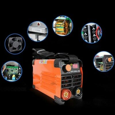 Handheld Inverter MMA Electric Welder 220V 20-250A Inverter ARC Welding Tool Kit