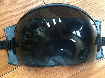 Gradient Visor, HGU-55/P, Cut For MBU-12/P, With Leather Cover