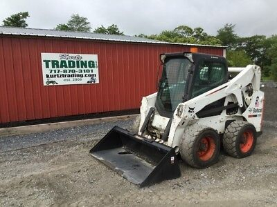 2010 Bobcat S650 Skid Steer Loader with Cab and High Flow Hydraulics!