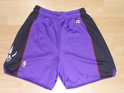 Toronto Raptors NBA Basketball Shorts Champion L Vince Carter, Tracy McGrady