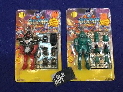 Lot of 2 RONIN WARRIORS ACTION FIGURE CYE & TALPA MASTER OF EVIL DYNASTY  new