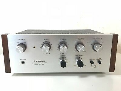 Vintage Pioneer SC-700 Stereo Preamplifier PHONO. Made in Japan.  RARE MODEL