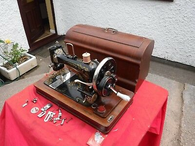 Rare  Vintage  Sowitch  Manual Sewing Machine.  Made  In  Germany.