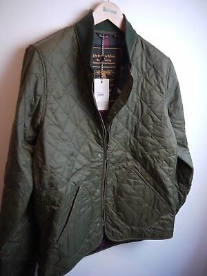 Barbour Mens Heritage Windrow Jacket, Medium, New With Tags, Olive Green