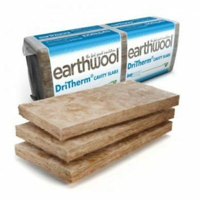 50mm Earthwool DriTherm Slab 37 – Cavity Wall Insulation Standard 6.55m²