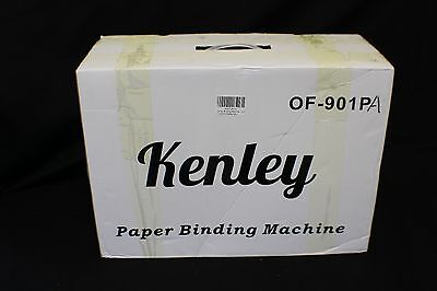 Kenley Paper Binding Machine Paper Punch Binder