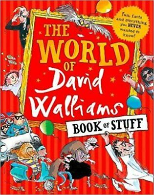 The World of David Walliams Book of Stuff NEW