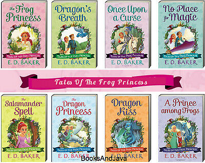 Tales of the Frog Princess 1-8 Dragon's Breath+ by E D Baker (8 Paperback Set)