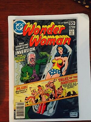 DC Comics WONDER WOMAN #247 Tales Of The Amazons VF. 1980.