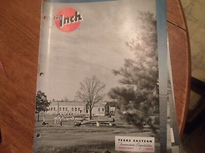 The INCH. Texas Eastern Transmission Corp. Feb. 1954