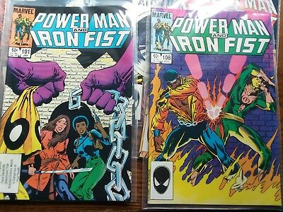 7 power man and iron fist 101,103,104,108,109,115,117 nm