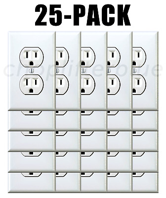 Electrical Outlet Stickers 25-Pack Prank Fake Joke Funny Custom Decal HQ Sticker