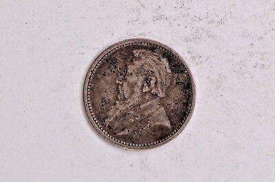 South Africa 1893 Silver 3 Pence .99c NO RESERVE
