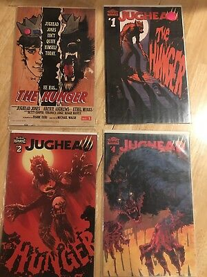 Jughead The Hunger 1 2 4 One Shot First Print Variants
