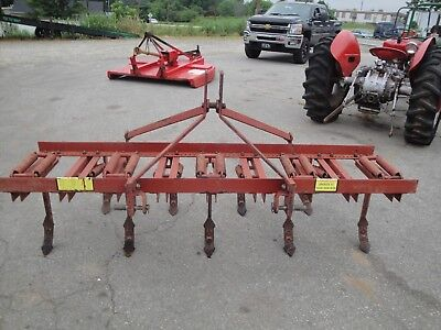 Very Nice Sitrex Tcm 9    3 Point Hitch 9 Shank Tillage  Tool