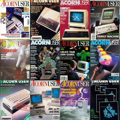 ACORN USER MAGAZINE - All 267 Issues PDF Complete Collection on DVD