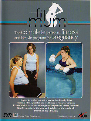 Fit Mum Pregnancy Fitness & Lifestyle Nutrition Meditation Weight Management DVD