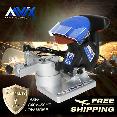 AAVIX 65W Mini Chainsaw Sharpener Electric Portable Chain Saw File Grinder Tool